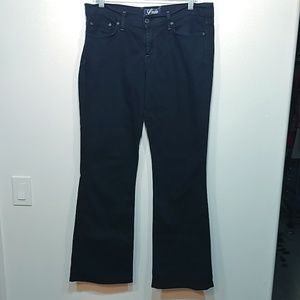 Lucky Brand Black Knox Sweet N Low Jeans size 10